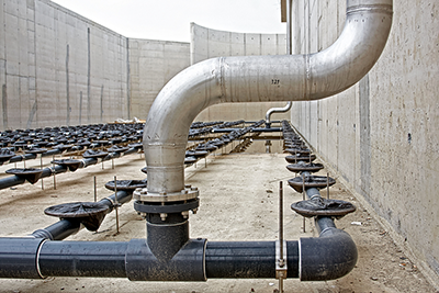 Waste Piping at Water Treatment Plants & Waste Piping at Water Treatment Plants   Hartwig Plumbing